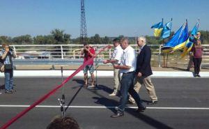 В Северодонецке открыли отремонтированный за деньги Японии путепровод