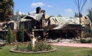 В Луганске демонтировали ресторан «Мансарда»
