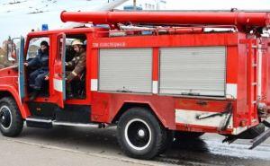В центре Луганска горело студенческое общежитие