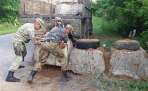 ОБСЕ заметила в Станице Луганской странную бетонную конструкцию