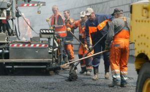 В Луганске отремонтировали дорогу по улице Лутугинская