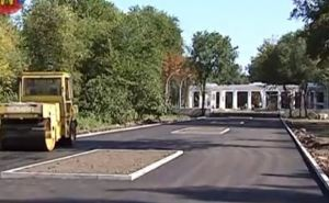 Как выглядит обновленная аллея парка Горького в Луганске (видео)