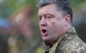 Порошенко против российских миротворцев на Донбассе