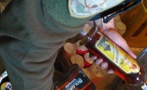 «Фантом» изъял в Луганской области крупную партию алкоголя и табака (фото)