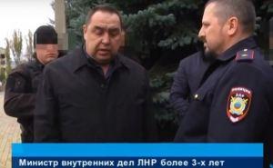 Плотницкий лично выселил министра МВД Корнета из дома в Луганске (видео)