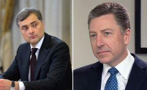 Песков рассказал, что Сурков планирует обсудить с Волкером в Белграде