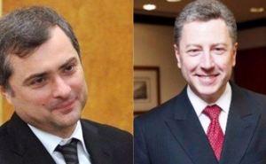 Стало известно, о чем говорили Волкер и Сурков на последней встрече