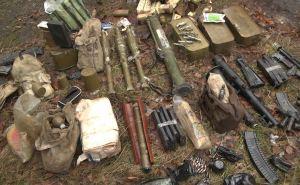 В Первомайске полиция обнаружила крупный схрон оружия и боеприпасов