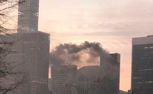 Пожар вспыхнул в Башне Трампа сегодня. Есть пострадавшие