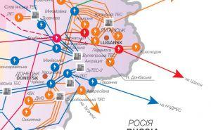 Луганскую область не могут подключить к энергетической системе Украины