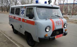 В Северодонецке работники «Скорой помощи» провели акцию против медицинской реформы