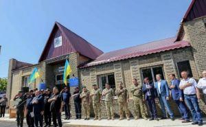 Аваков открыл новый полицейский участок в Станице Луганской (фото)