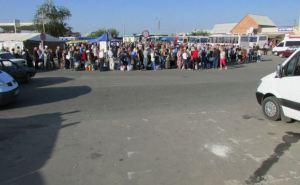 Пункт пропуска в Станице Луганской за сутки пересекли 10000 человек