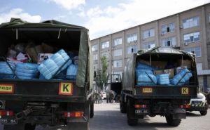 Латвия передала 12 тонн гуманитарной помощи для Луганской области