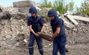 Саперы обезвредили в Алчевске и Пятигоровке два снаряда РСЗО «Ураган»
