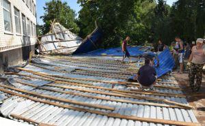 В Луганской области недавно отремонтированная гимназия стала непригодной для учебы детей