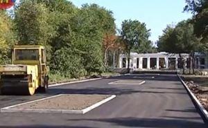 В парке Горького появится ротонда молодоженов, кованный мост и аисты