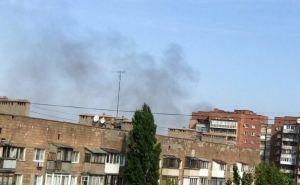 В Донецке прогремел взрыв. Фото, карта