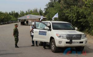 Члены патруля ОБСЕ рассказали что они видели 2сентября на КПВВ «Станица Луганская»