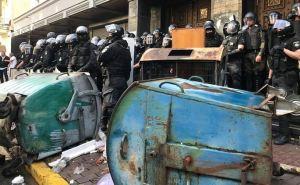 Требуют расстрела Луценко. Националисты штурмуют Генпрокуратуру