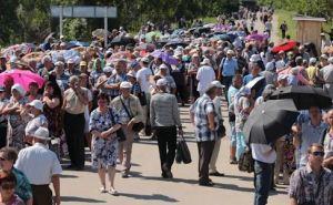В августе КПВВ В«Станица ЛуганскаяВ» пересекли более 320 тысяч человек. Инфографика
