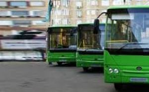 Два автобуса луганского ГКП будут перевозить пассажиров на троллейбусном маршруте №52 6Воктября