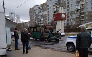В Луганске намерены жестко разобраться с инцидентом со сгоревшей маршруткой