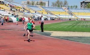 Легкоатлетическая эстафета ко Дню Победы стартовала в Луганске