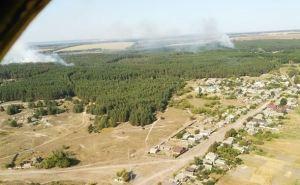 В Северодонецке запретили вход и въезд на территорию лесов