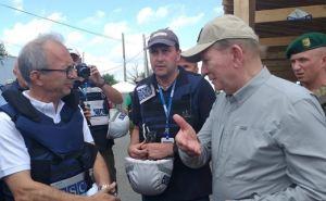 Кучма заявил, что ОБСЕ в ближайшее время проведет верификацию отвода вооружений от КПВВ «Станица Луганская»
