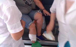 При прохождении КПВВ женщина получила пулевое ранение