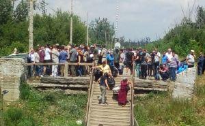 Зеленский сегодня на КПВВ «Станица Луганская» и представит нового губернатора Луганщины