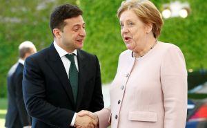 Зеленский и Меркель по телефону обсудили дальнейшие шаги по урегулированию ситуации на Донбассе