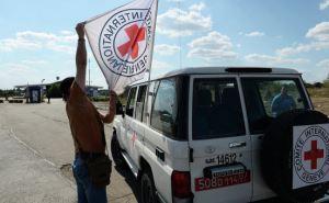 Международный комитет Красный крест отправил на Донбасс 104,69 тонны гуманитарного груза