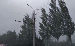 На Луганщине из-за непогоды могут возникнуть перебои в электроснабжении