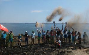 В Ольвии возобновили традиции посвящения в археологи студентов ЛНУ им Т.Г.Шевченко