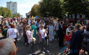 В Луганске массовые гуляния посвященные Дню города. ФОТО