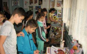 Выставка работ детей с ограниченными возможностям открылась в Луганске