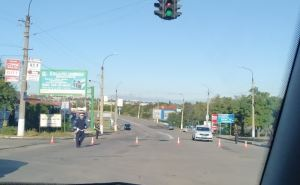 В Луганске указали маршруты объезда поврежденного моста у Лесоторогового склада