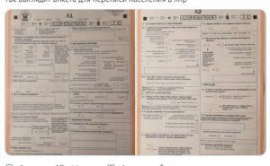 Как выглядит анкета для переписи населения в ЛНР. ФОТО