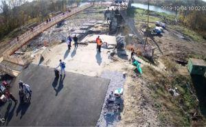 В Станице открыли движение по обходному мосту и разбирают разрушенную секцию моста. ФОТО. ВИДЕО