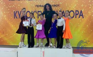 Луганский коллектив спортивного бального танца победил на соревнованиях в России
