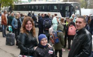 Очередная группа из 145 детей ЛНР отправилась на отдых в подмосковный лагерь «Снегири»