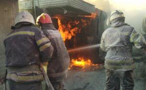 Получивший сильные ожоги во время пожара на АЗС скончался в реанимации