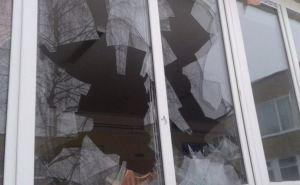 В Алчевске взрыв у стены жилого дома