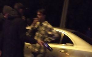 В Луганске мажор на «Мерседесе» организовал ДТП на улице Королева. Есть пострадавшие. ФОТО