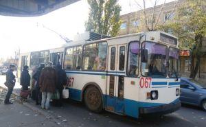 В Лисичанске ездит только один «живой» троллейбус