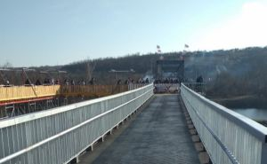 Завтра в Станице Луганской откроют восстановленный мост. В присутствии Зеленского