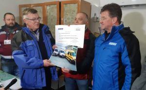 На КПВВ «Станица Луганская» с украинской стороны наконец-таки появятся автомобили скорой помощи