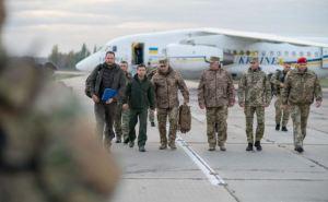 Президент Зеленский сегодня прибудет в Донецкую область